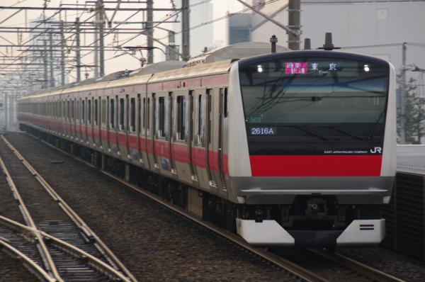 2011年3月8日 京葉線 ケヨ503 新習志野