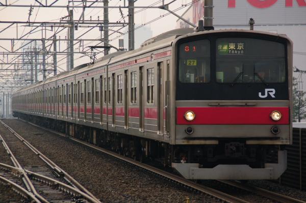 2011年3月8日 京葉線 ケヨ27 新習志野