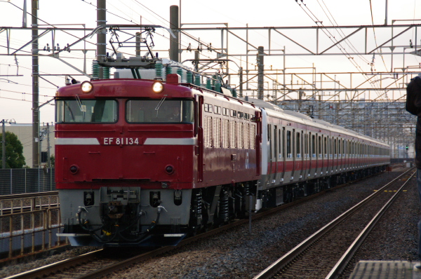 2011年3月10、11日 京葉線 外房線 地震 ケヨ515