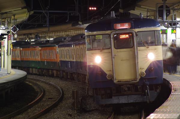2011年3月10、11日 京葉線 外房線 地震 113系 大網
