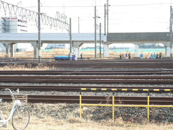 2011年3月12日 京葉車両センター 地震被害 線路