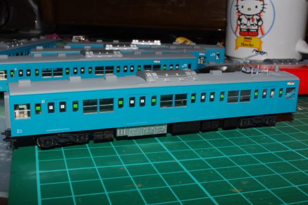 2011年3月14日 模型  9号車
