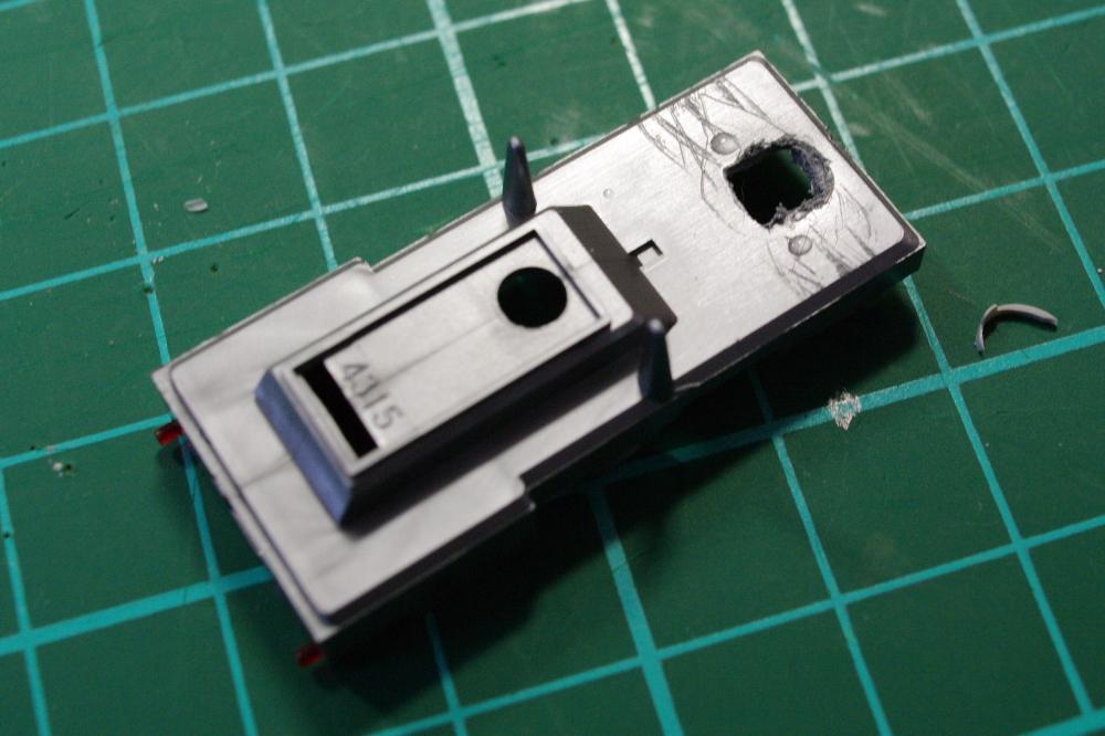 2011年3月14日 模型  ライトカバー