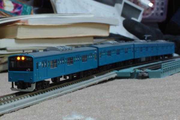 2011年3月14日 模型  試運転2