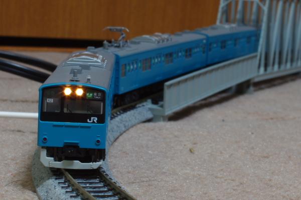 2011年3月14日 模型  試運転1