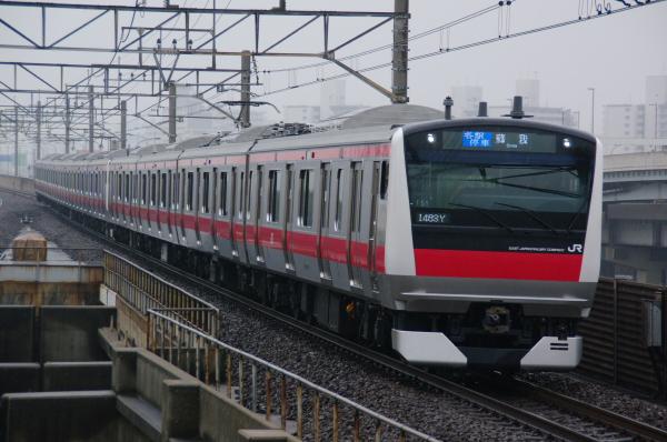 2011年3月20,日 京葉線 ケヨ551+F51 マイはm