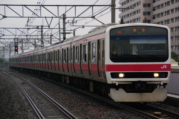2011年3月20,日 京葉線 ケヨ34 新浦安