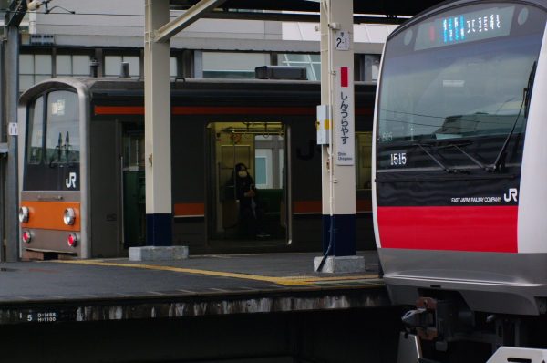 2011年3月20,日 京葉線 新浦安