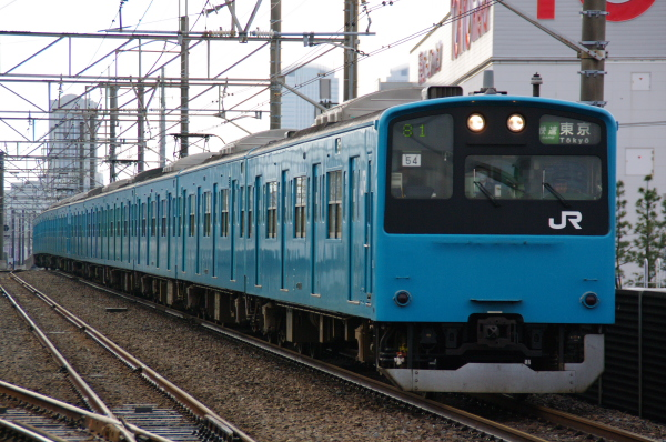 2011年3月23日 京葉線 ケヨ54 新習志野