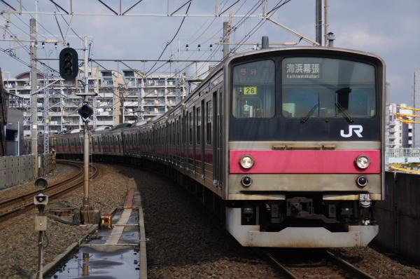 2011年3月23日 京葉線 ケヨ26 潮見