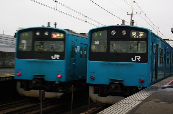 2011年3月23日 京葉線 並び