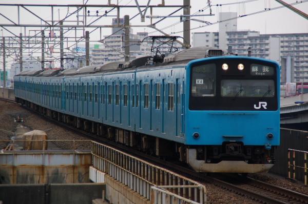 2011年3月24日 京葉線 ケヨ54+K4 舞浜