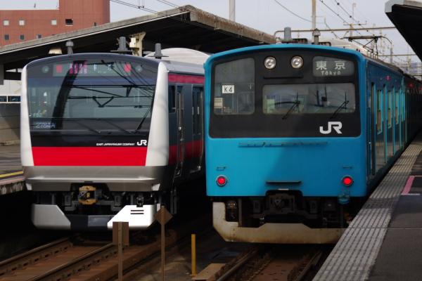 2011年3月24日 京葉線 並び