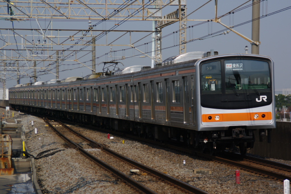 2011年3月25日 京葉線 ケヨM35 臨海公園