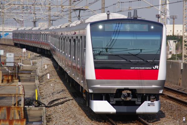2011年3月25日 京葉線 ケヨ551+F51 臨海公園
