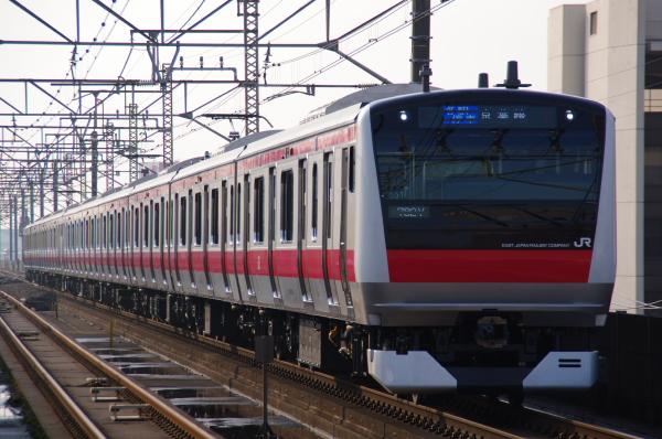 2011年3月24日 京葉線 ケヨ551+F51 千葉みなと