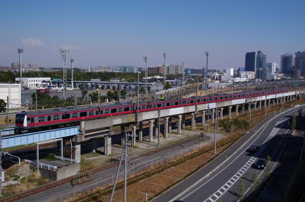 2011年3月26日 京葉線 ケヨ510 海浜幕張-新習志野
