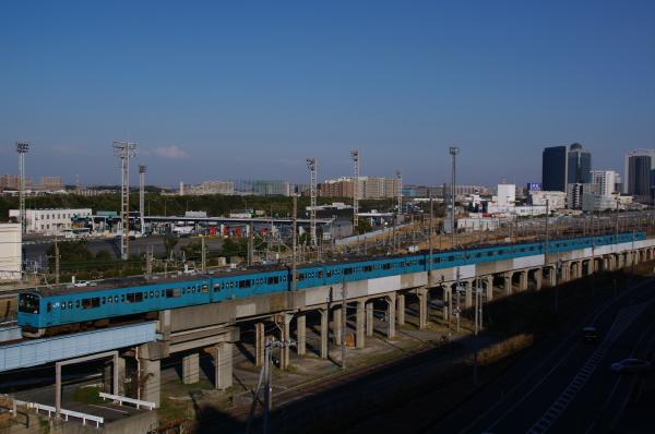 2011年3月26日 京葉線 ケヨ52+K2 海浜幕張-新習志野