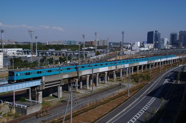 2011年3月26日 京葉線 ケヨ52+K2 新習志野-海浜幕張