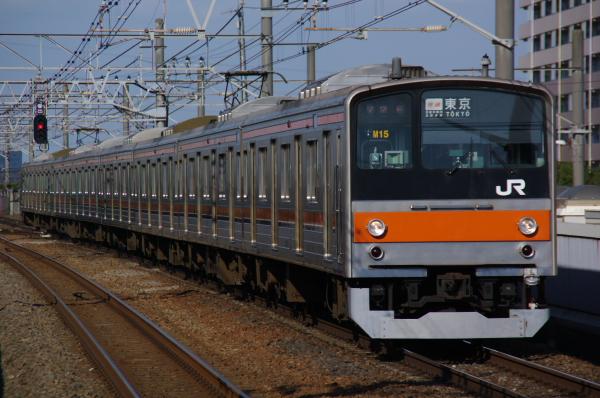 2011年3月26日 京葉線 ケヨM15 新浦安