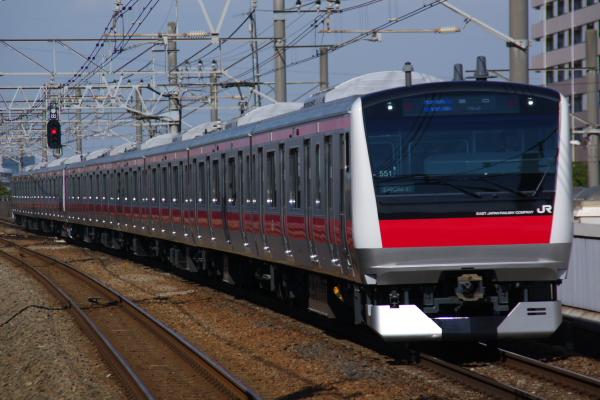 2011年3月26日 京葉線 ケヨ551+F51 新浦安