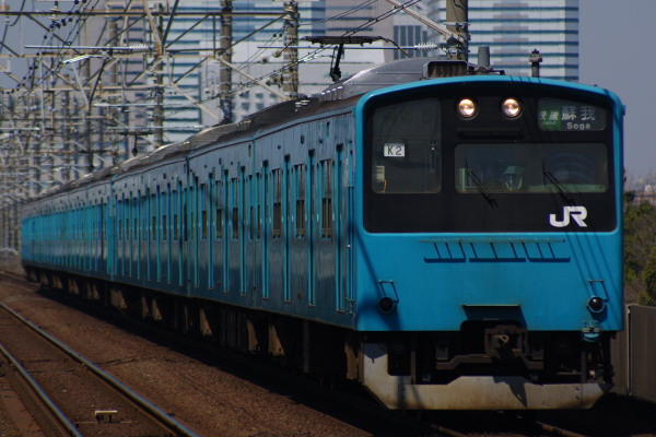 2011年3月28日 京葉線 M72出場 ケヨ52+K2 検見川浜