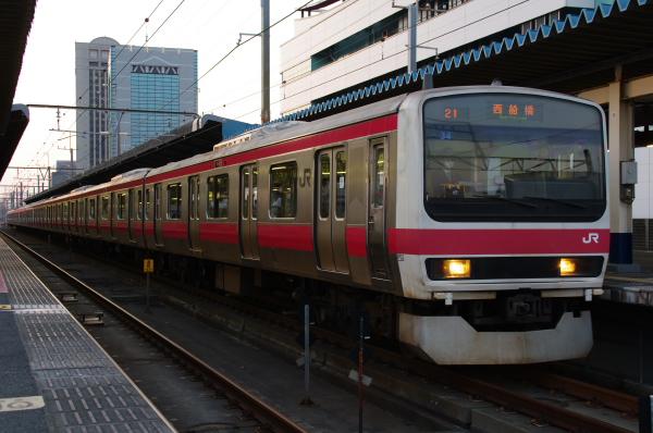 2011年3月28日 京葉線 M72出場 ケヨ34 海浜幕張