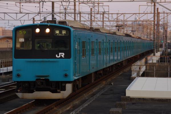 2011年3月28日 京葉線 M72出場 ケヨ52+K2 海浜幕張