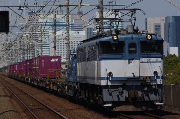 2011年3月28日 京葉線 M72出場 EF65-1101