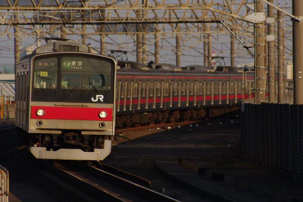 2011年3月28日 京葉線 M72出場 ケヨ24 南船橋