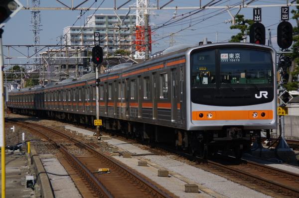 2011年3月28日 京葉線 M72出場 ケヨM63 西船橋