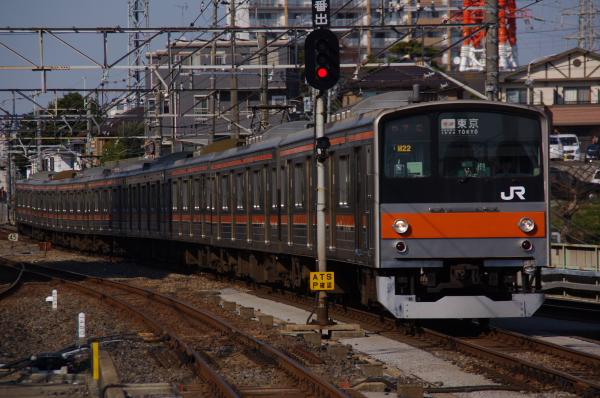 2011年3月28日 京葉線 M72出場 ケヨM22