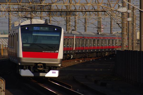 2011年3月28日 京葉線 M72出場 ケヨ551+F51 南船橋