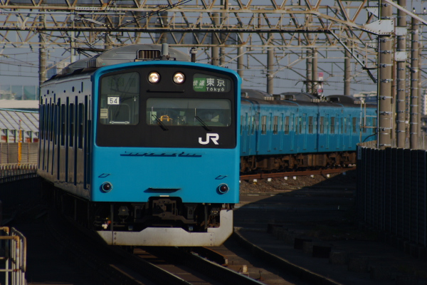 2011年3月28日 京葉線 M72出場 ケヨ54+K4 南船橋
