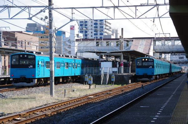2011年3月28日 京葉線 M72出場 並び