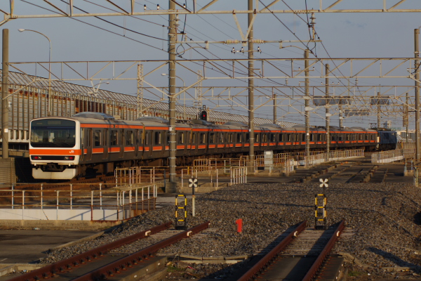 2011年3月28日 京葉線 M72出場 ケヨM72 南船橋
