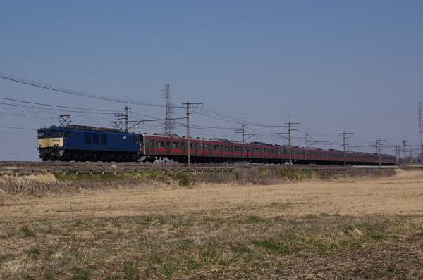 2011年3月29日 ケヨ25廃車 ケヨ516配給  ケヨ25 ヒガウラ