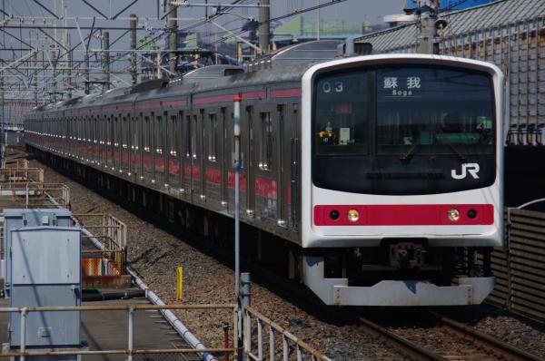 2011年3月29日 ケヨ25廃車 ケヨ516配給  ケヨ10 南船橋