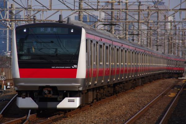 2011年3月30日 京葉線 ケヨ504 新習志野