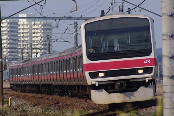 2011年3月30日 京葉線 ケヨ34 永田-大網