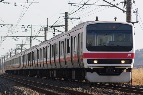 2011年3月31日 京葉線 外房線 ケヨ34 本納-永田