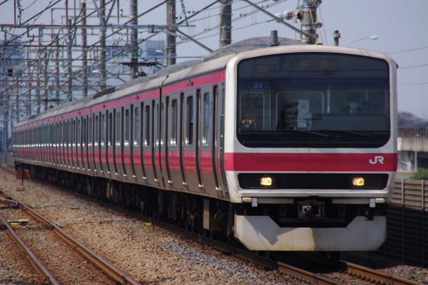 2011年3月31日 京葉線 外房線 ケヨ34 新習志野