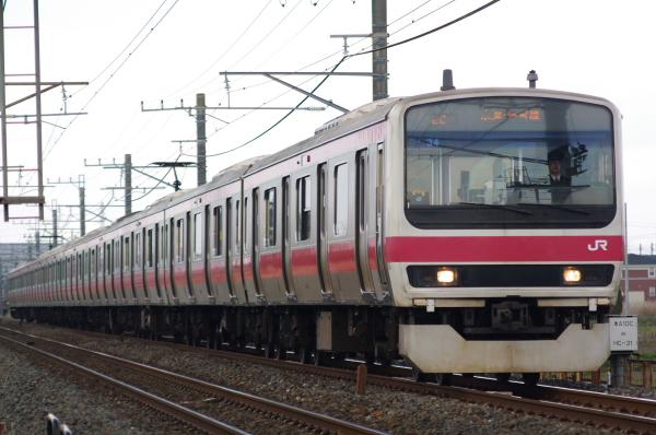 2011年3月31日 京葉線 外房線 ケヨ34 永田-本納