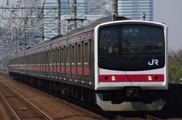 2011年3月31日 京葉線 外房線 ケヨ9 検見川浜