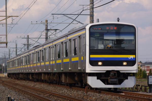 2011年3月31日 京葉線 外房線 マリC617 永田-本納