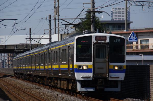 2011年4月1日 外房線 京葉線  1649M マリ509 本千葉-蘇我