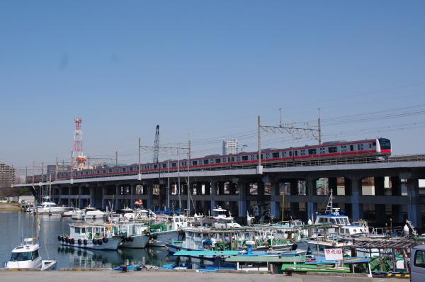 2011年4月1日 外房線 京葉線  ケヨ515 蘇我-千葉みなと