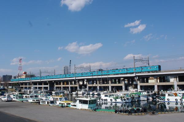 2011年4月4日 外房線 京葉線  ケヨ52+K2 千葉みなとー蘇我