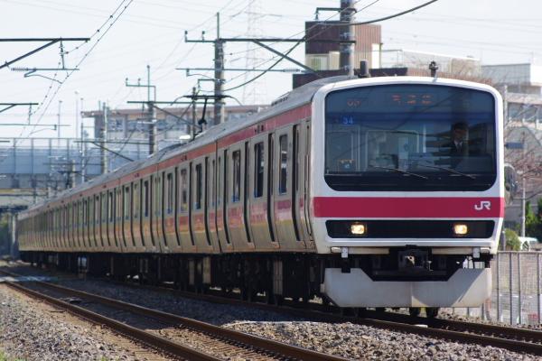 2011年4月4日 外房線 京葉線  ケヨ34 蘇我-鎌取