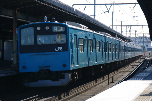 2011年4月5日 京葉線  ケヨ53+K3 稲毛海岸 後打ち